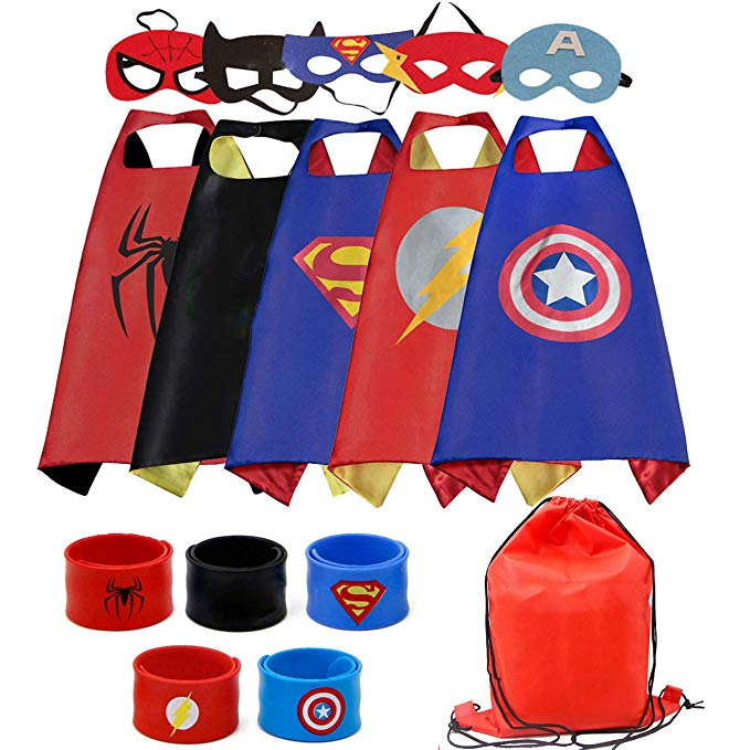 Cotatero Dress Up Cape and Mask Set