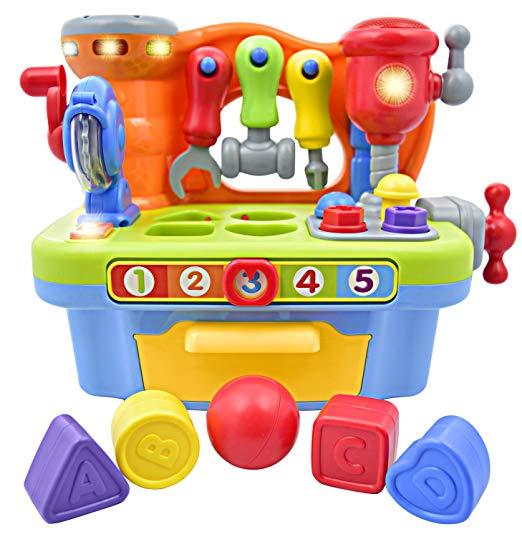Deluxe Toy Workshop Playset