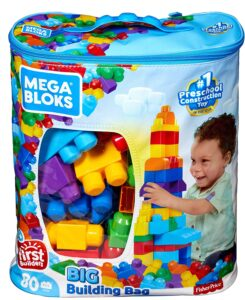 Mega Bloks 80-Piece Big Building Bag Review