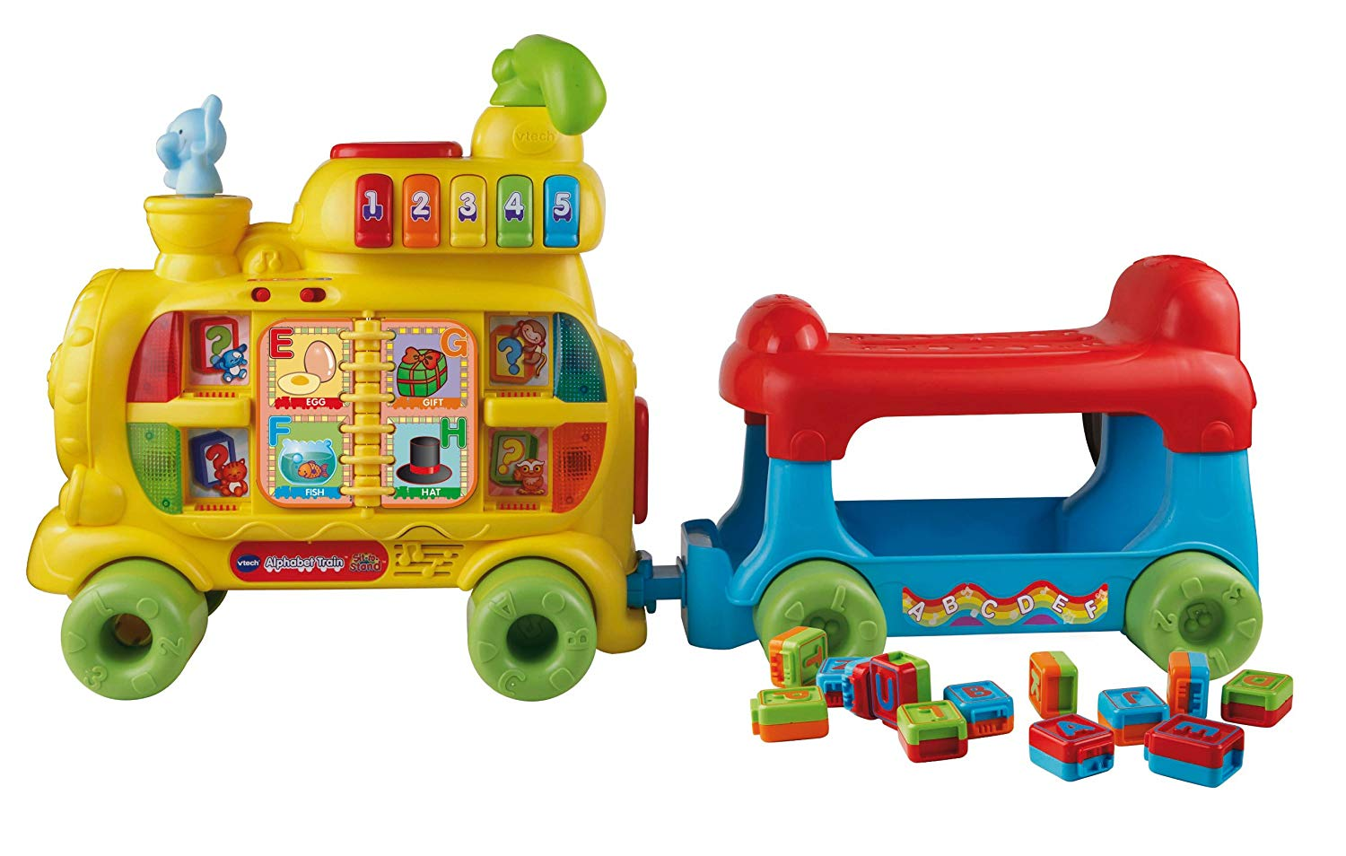 Sit-to-Stand Alphabet Train Review