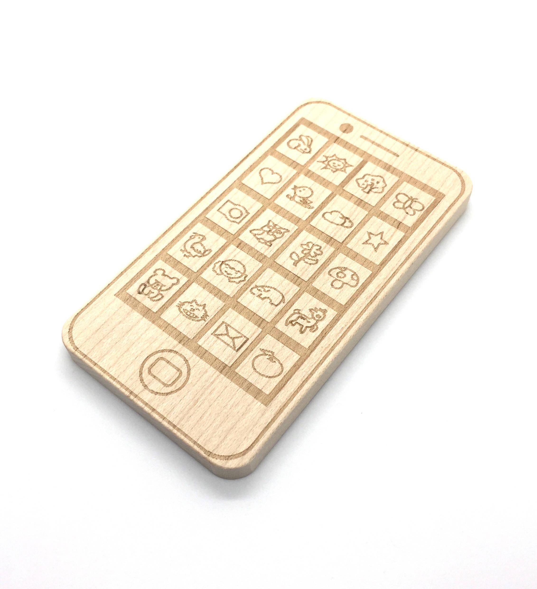 Smartphone Wood Teether