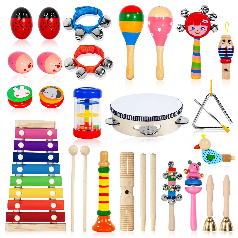 24 Piece Musical Instrument Set