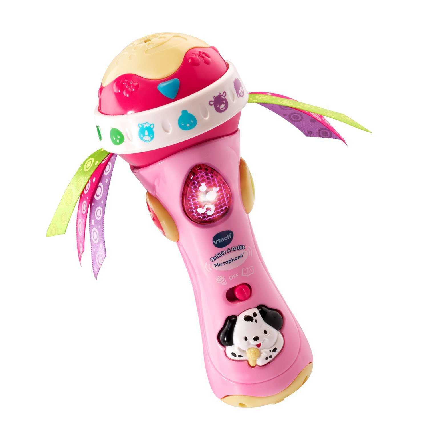 Baby Babble and Rattle Microphone