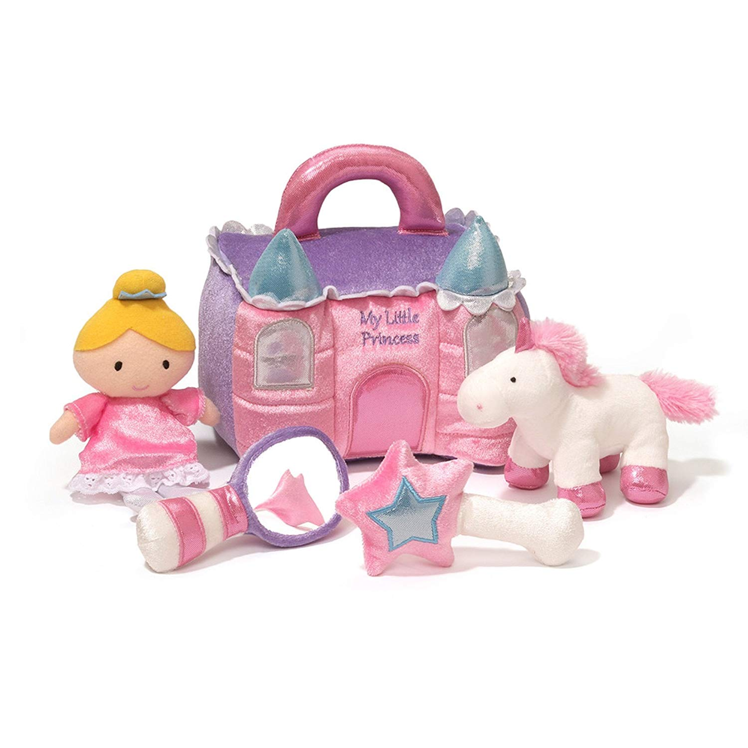 Baby GUND Princess Castle Stuffed Plus Playset