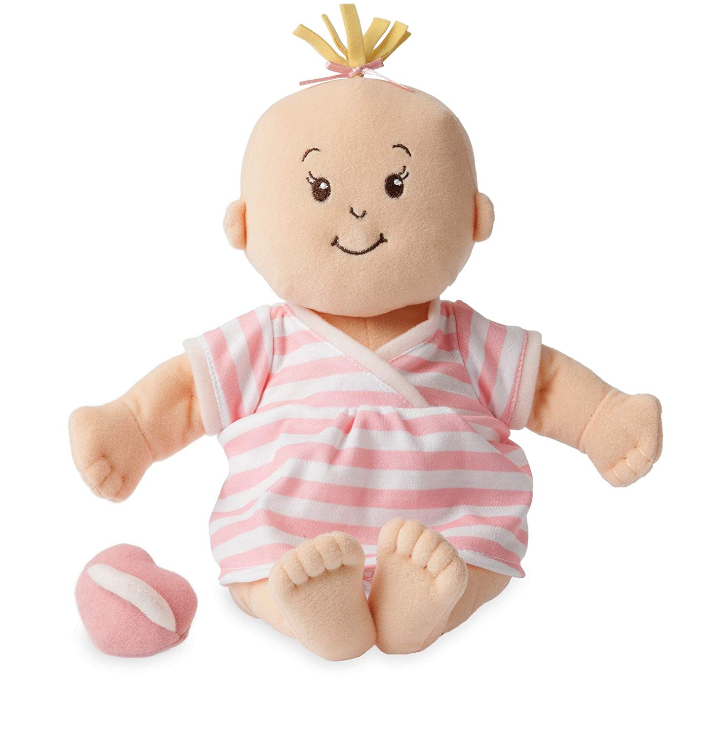 Baby Stella Peach Soft Nurturing First Baby Doll