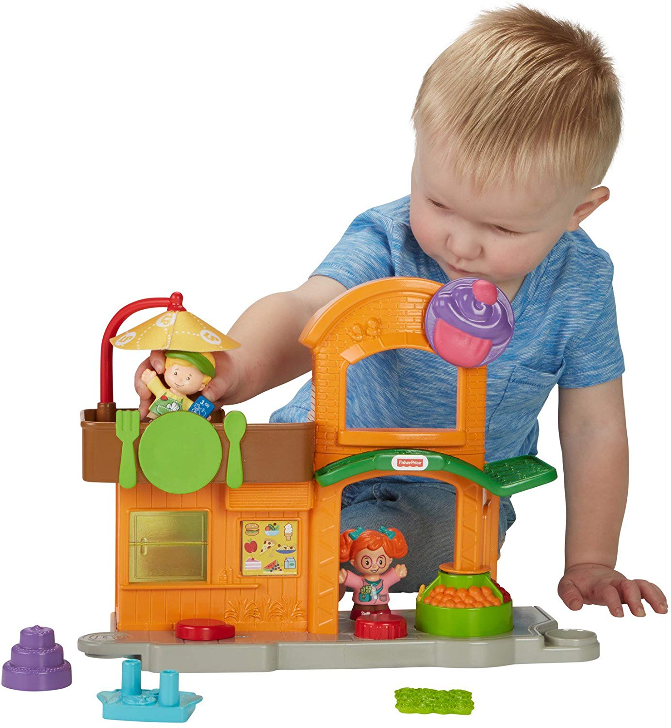 Fisher-Price Little Manners Marketplace Playset