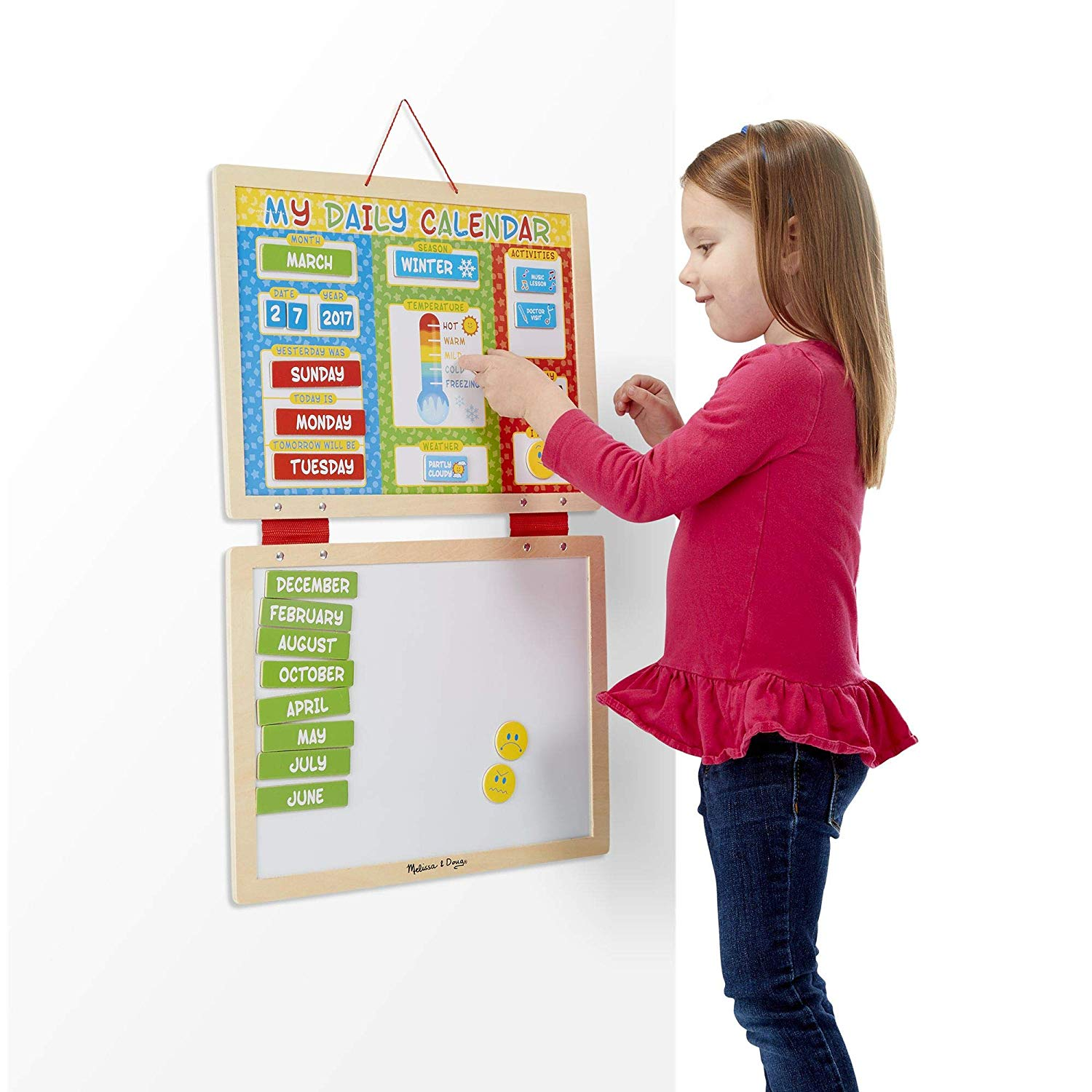 Melissa and Doug My First Daily Magnetic Calendar