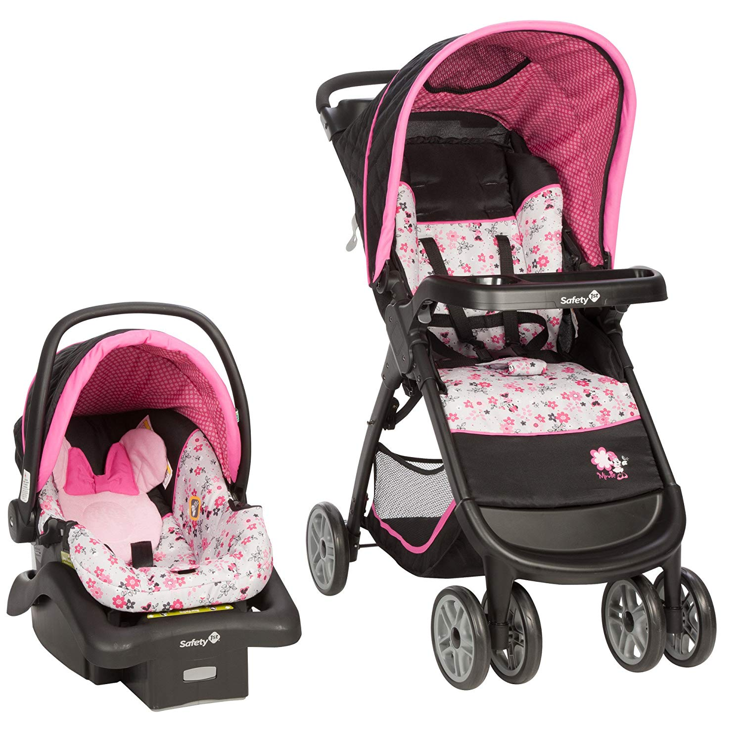 Disney Baby Minnie/Micky Mouse Amble Quad Travel System Stroller