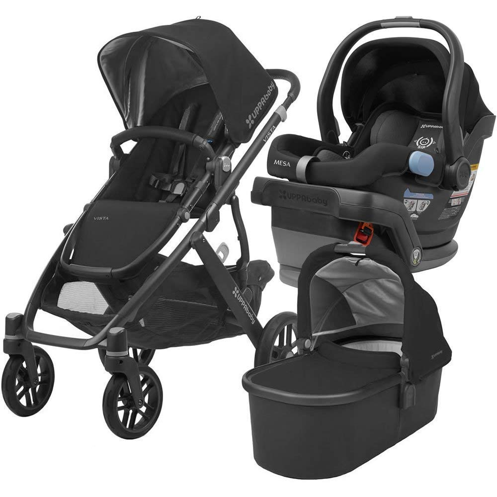 UPPAbaby Full-Size Vista Infant Baby Stroller & MESA Car Seat Bundle