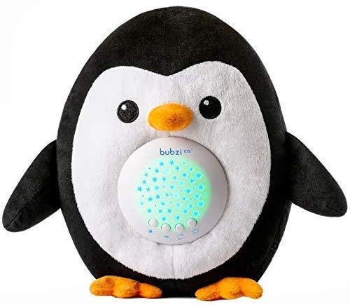 Bubzi Co White Noise Sound Machine Sleep Aid Penguin