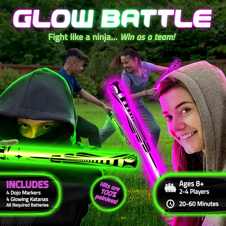 Glow Battle Light-Up Sword Game