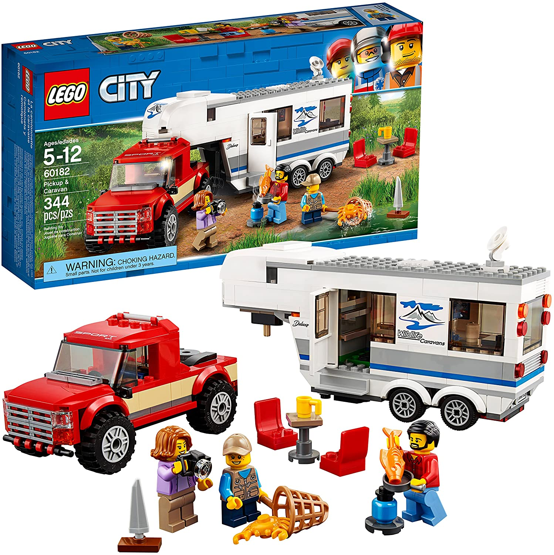 LEGO City Pickup and Caravan