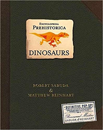 Prehistoric Dinosaur Pop-Up Book