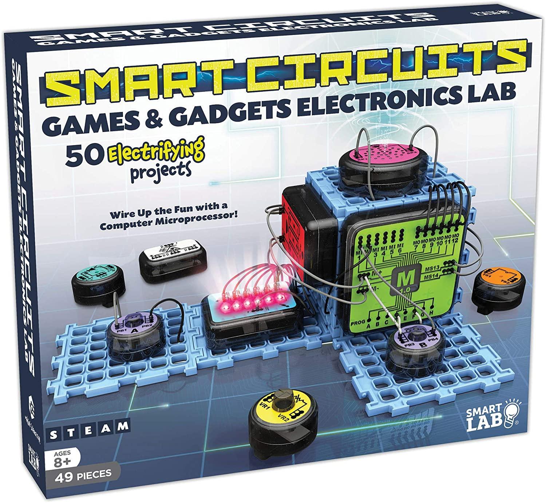 SmartLab Smart Circuits Games and Gadgets Electronics Lab