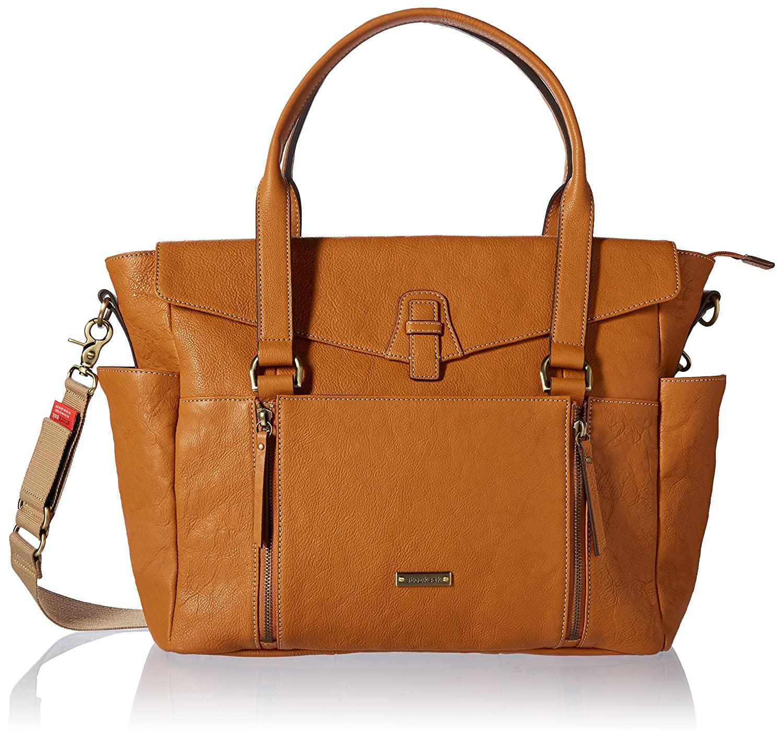 Storksak Emma Leather Shoulder Bag