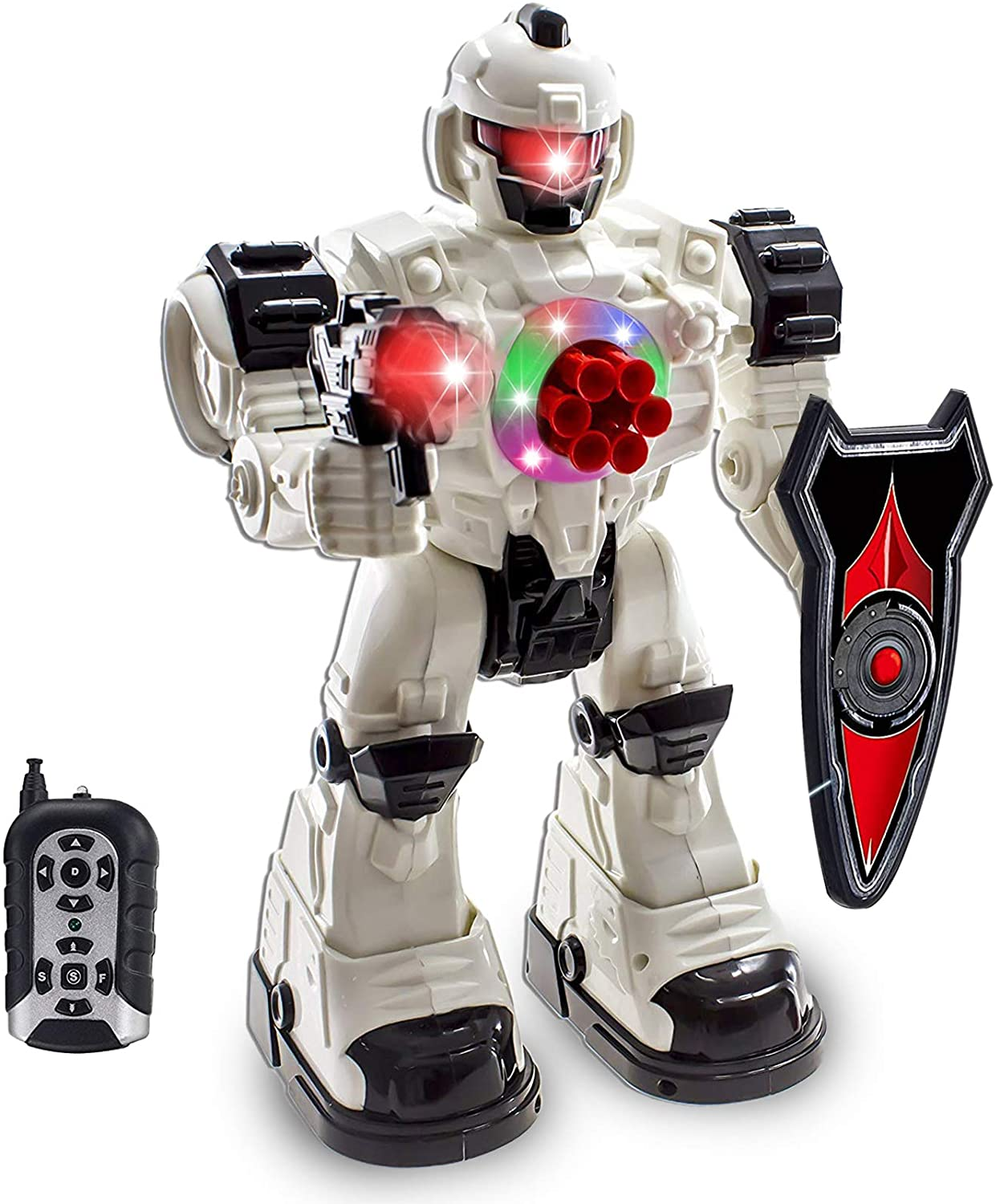 WolVol Remote Control Robot Police Toy